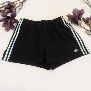 Adidas Climalite Striped Athletic Shorts XL